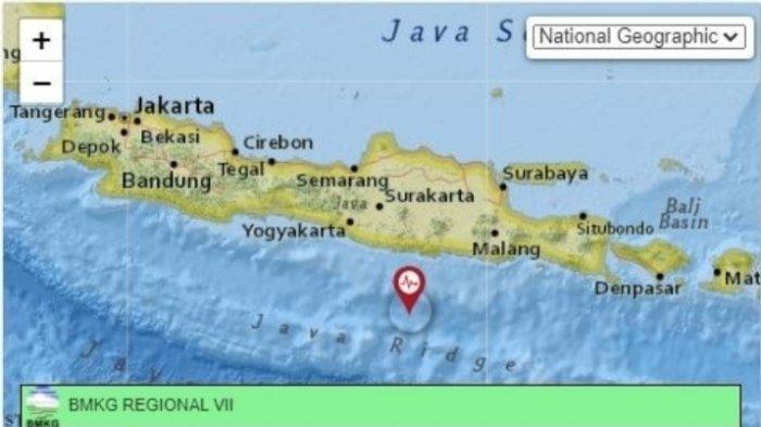 Gempa Terkini Jumat 25 Juni 2021 Malam, Jatim Kembali Bergetar, Info BMKG Magnitudo dan Pusat Gempa