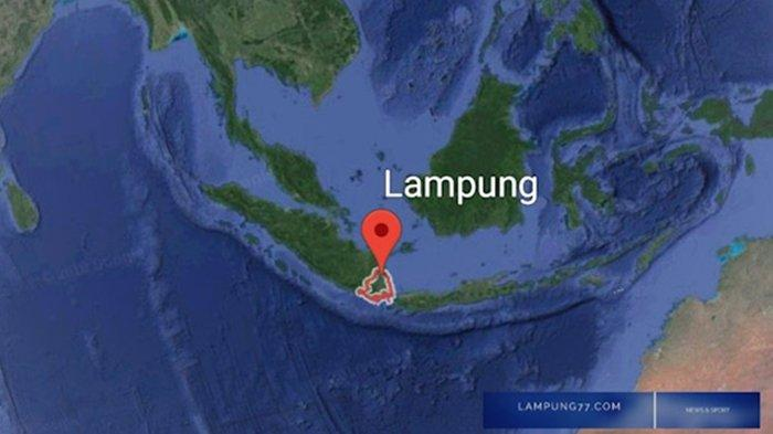 Gempa Bumi Sabtu (13/2/21), Dua Guncangan Beruntun Getarkan <a href='https://manado.tribunnews.com/tag/lampung' title='Lampung'>Lampung</a>.