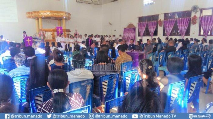 Gempa Bumi Sempat Terasa Saat Perjamuan Kudus Berlangsung di Miangas