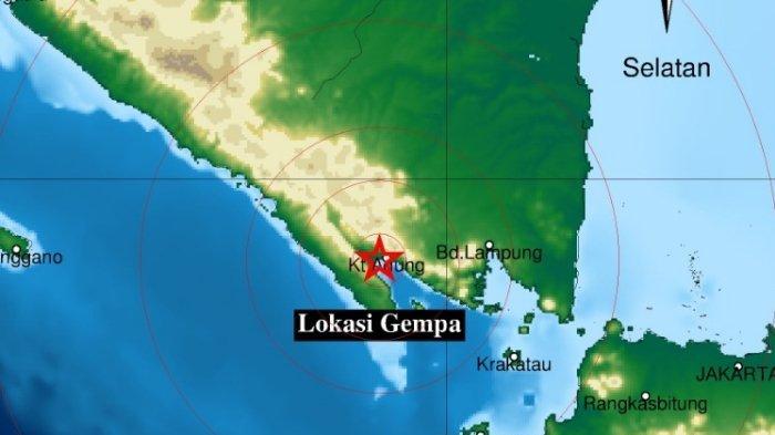 Gempa Terkini Sore Ini Selasa 10 8 2021 Terjadi Di Darat Berikut Info Magnitudo Dan Lokasinya Tribun Manado