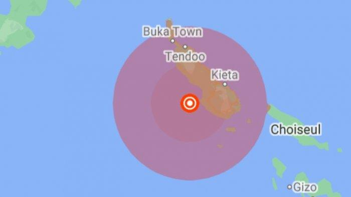 Gempa Bumi Tadi Malam, Berikut Info Terbaru Magnitudo dan Titik Lokasi Pusat Gempa