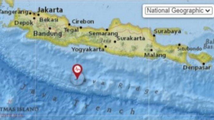 Gempa Bumi Tadi Malam Info Terkini BMKG, Ini Lokasi Gempa dan Data Magnitudo