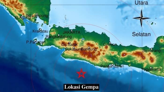 Gempa Tadi Subuh di Wilayah Jawa Barat Jumat 17 September 2021, Ini Info Magnitudo dan Lokasinya
