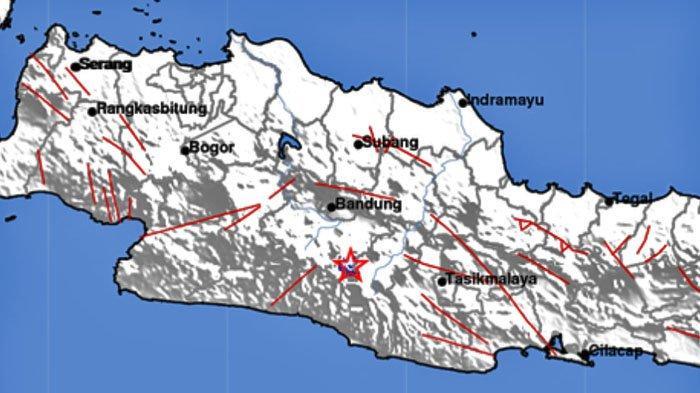 Gempa di Darat Tadi Malam, Ini Lokasi dan Kekuatannya