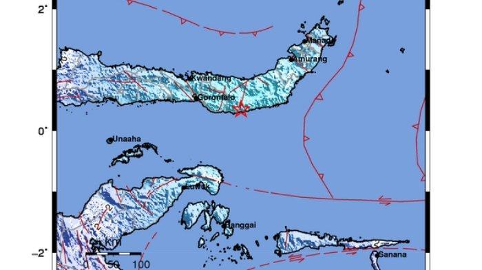 Gempa bumi terkini berkekuatan magnitudo 5.3 siang ini Selasa 8 Juni 2021