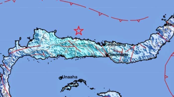 Gempa 5.4 SR, Info BMKG Terjadi di Boalemo Gorontalo Pukul 08.49 Wita Rabu 15 September 2021