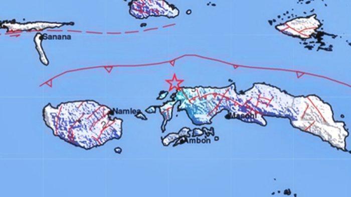 Gempa Bumi Selasa (21/9/2021) Tadi Pagi, Berikut Info BMKG Lokasi dan Magnitudonya