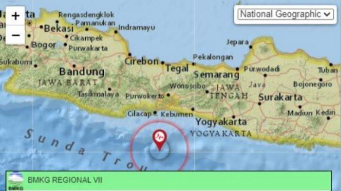 Gempa Bumi Kamis 17 Juni 2021 Sore, Info Terkini BMKG Magnitudo dan Lokasi Pusat Gempa