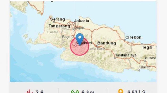 Gempa Terkini Jumat (30/7/2021) Tadi Siang, Jawa Barat Diguncang, Ini Info Magnitudo dan Lokasinya