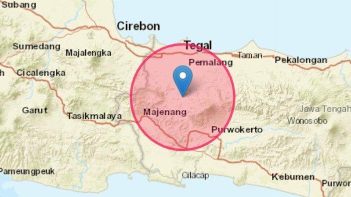 Gempa Guncang Jawa Tengah Selasa (28/09) Pagi, Ini Info Terkini BMKG Lokasi dan Magnitudonya