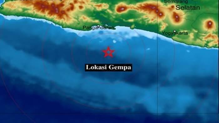 Gempa bumi terkini melanda wilayah Cilacap, Jawa Tengah (Jateng), Minggu (12/9/2021) pagi.