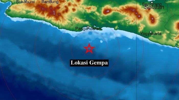 Gempa Bumi Tadi Pukul 08.49 WIB Sabtu (18/09/2021), Guncang Jawa Barat, Ini Info BMKG Magnitudonya