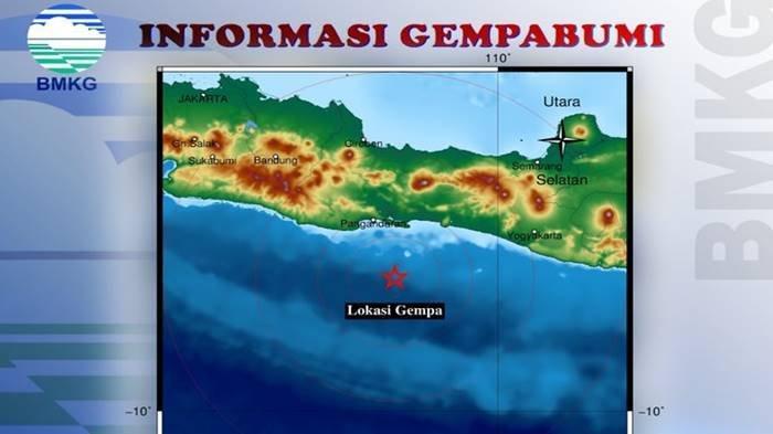 Gempa Terkini Minggu 12 September 2021, Guncang Jawa Tengah, Ini Info BMKG Lokasi dan Magnitudonya