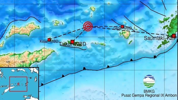 Gempa 5.0 SR Tadi Pagi Rabu (08/09/21), Berikut Info Data BMKG Lokasinya