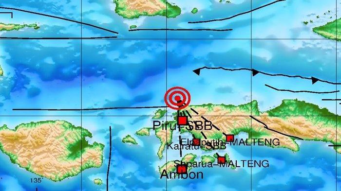 Gempa 4.1 SR Malam Ini Sabtu 18 September 2021, Berikut Info Data BMKG Lokasinya
