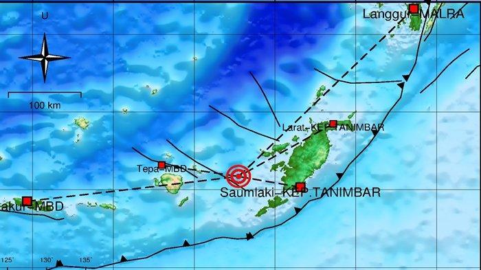 Gempa Terkini Selasa (28/09/2021) Pagi, Berkekuatan 4.0 SR, Ini Info BMKG Lokasinya