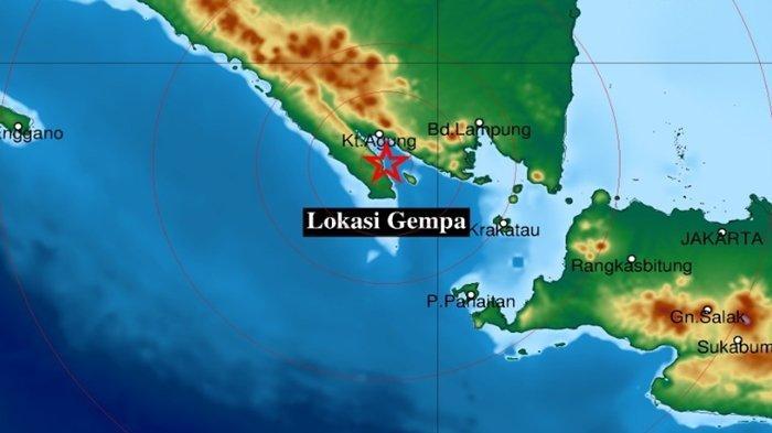 Gempa Tadi Pukul 00.30 WIB Selasa 28 September 2021, Ini Info BMKG Magnitudo dan Lokasinya