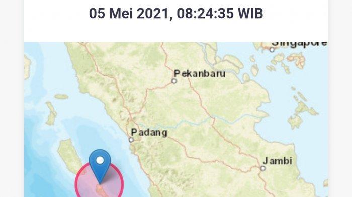 Gempa Bumi Rabu (5/5/21), Info BMKG Ini Magnitudo dan Lokasinya