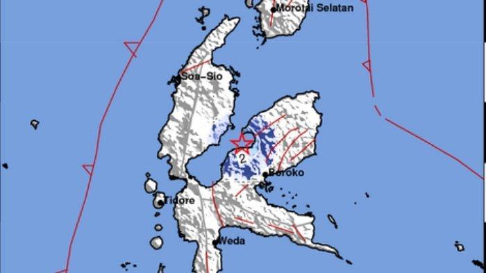 Gempa Terkini Sore Ini Rabu (15/9/2021), Berikut Info BMKG Titik Lokasi dan Magnitudonya