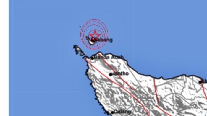 Gempa bumi terjadi di Aceh, Sabang Senin 14 Juni 2021. Info BMKG magnitudo gempa.