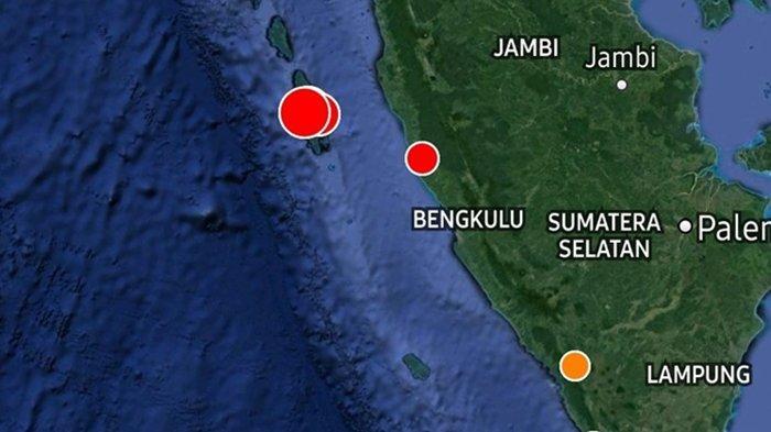 Gempa Bumi Terkini Sabtu Pkl 07.36 WIB, Guncangan Magnitudo 5.4 SR di Titik Rawan, Ini Lokasinya