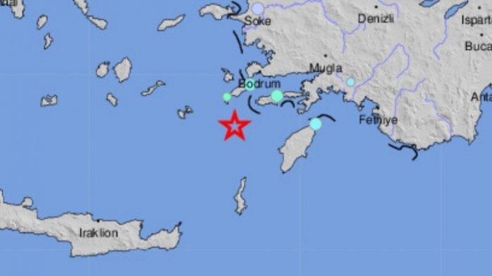 Gempa Bumi Magnitudo 5.7 SR Selasa (22/06) Pagi, Ini Lokasi Titik Pusat Guncangan