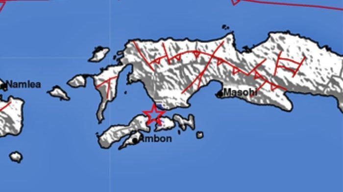 Gempa Laut Guncang Kairatu Pukul 14.52 WIB, Ini Data Lengkap BMKG