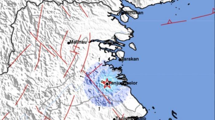 Gempa bumi terkini tadi dini hari Sabtu 8 Mei 2021. Berikut magnitudo dan lokasinya.