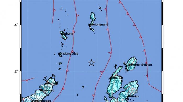 Gempa terjadi Halmahera Barat