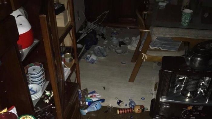 Gempa Besar 7.1 Tadi Malam, Terjadi di Jepang, 900.000 Rumah Tangga Mati Lampu