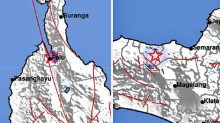 2 Gempa Bumi Selasa 25 Mei 2021 Pagi, Terjadi Jam 9 dan 10, Info BMKG Ini Lokasi dan Kekuatannya