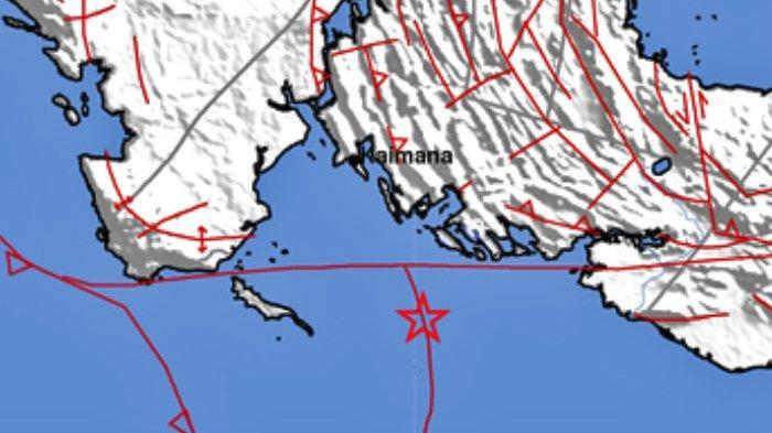 Gempa Bumi Terkini Minggu 11 Juli 2021 Pukul 08.00 Wita, Info BMKG Terjadi di Kaimana