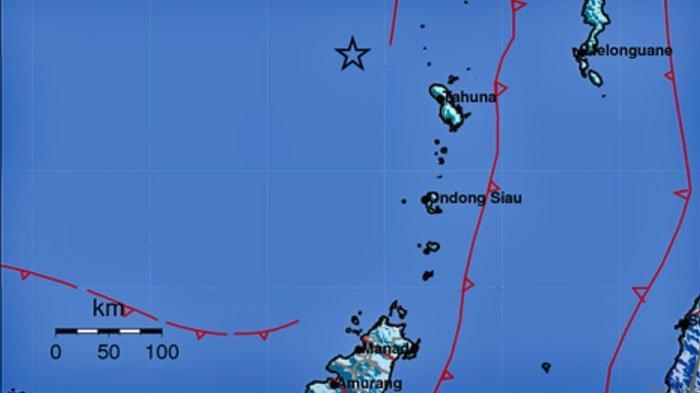 Gempa di Laut, Terasa di Lima Daerah, Ini Lokasi dan Kekuatannya