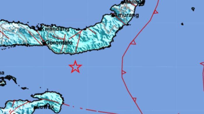 10 Daerah Diguncang Gempa Bumi Malam Ini Jumat 9 Juli 2021, Info BMKG Pusat Gempa di Bolsel Sulut