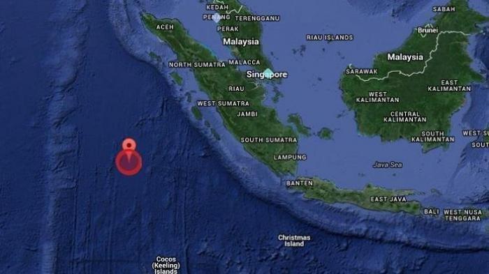 Gempa bumi Guncang Mentawai Magnitudo 5.1, Rabu (12/05/21) dini hari.