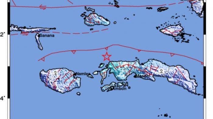 Gempa Bumi Tadi Malam 5.2 SR, Info BMKG Berikut Titik Pusat Gempa, 3 Daerah Merasakan Getaran
