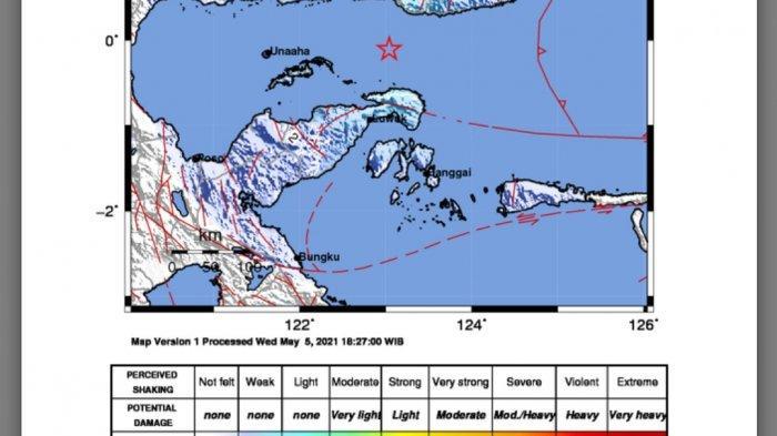 Gempa Hari Ini Kamis (6/5/21), Info BMKG Ini Magnitudo dan Lokasinya