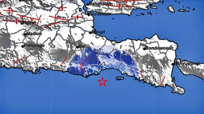 Gempa pertama hari ini Minggu 11 Oktober 2020. Tercatat BMKG.