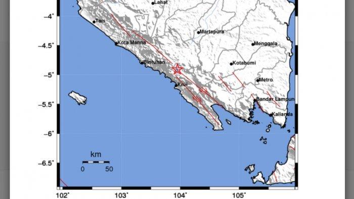 Gempa di Darat Kamis (22/04/21) Tadi Dini Hari, Info Terbaru BMKG, Ini Magnitudo & Lokasinya