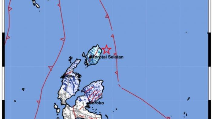 Info Gempa Tadi Malam Pukul 22.24 Wita di Laut, Ini Lokasi dan Kekuatannya