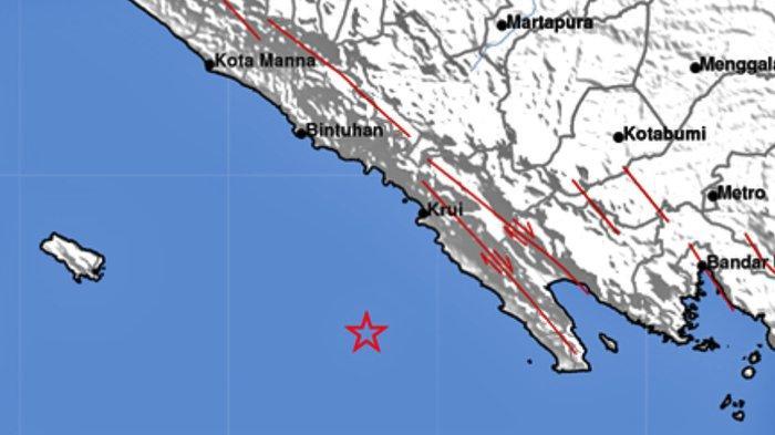 Gempa Bumi Tadi Malam di Laut, Info BMKG Ini Lokasi dan Kekuatannya