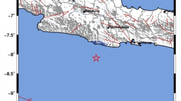 Gempa Tadi Malam di Laut, Info Terkini BMKG Guncangan Terasa di 13 Daerah, Ini Titik Pusatnya