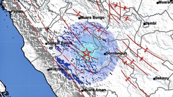 GEMPA Terjadi di Darat Malam Ini Senin 14 Juni 2021, Info BMKG Berikut Lokasi dan Kekuatannya