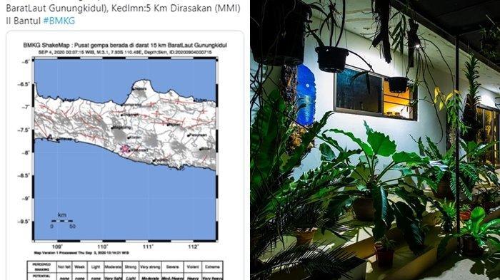 Info Gempa Terkini Hari Ini Jumat (04/09/20), Gunungkidul DIY Diguncang Gempa, Warga: Rumahku Goyang