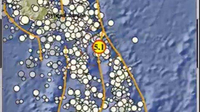 Gempa Terkini Kamis 5 Agustus 2021, Info BMKG Ini Lokasi dan Kekuatannya