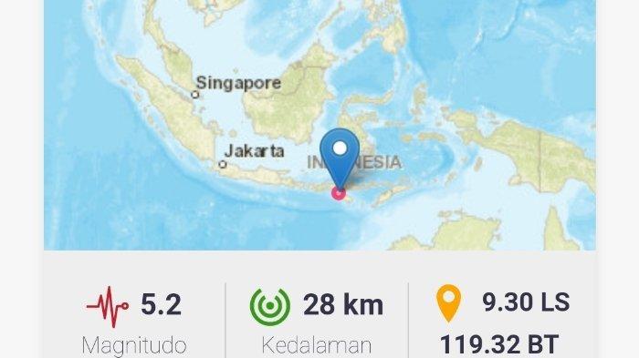 Gempa Terkini Rabu 4 8 2021 Dini Hari Ini Info Bmkg Magnitudo Dan Koordinatnya Tribun Manado