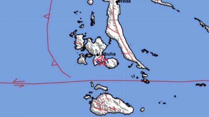 Gempa Terkini Senin 13 September 2021 Tadi Sore, Ini Lokasi dan Magnitudo Info BMKG