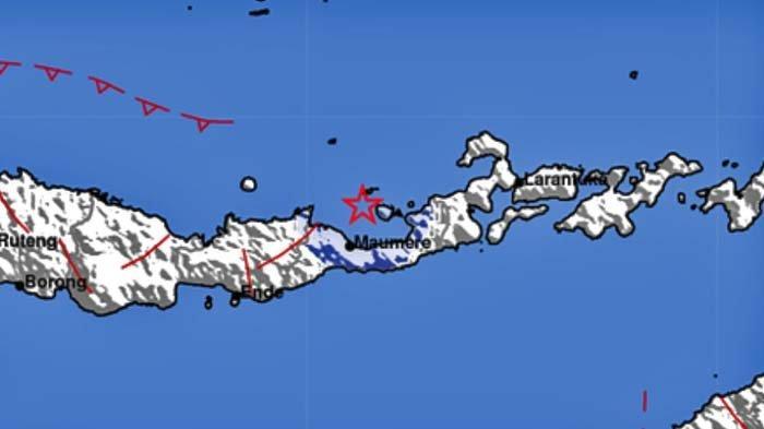 Gempa Terkini Pukul 10.34 Wita Senin 6 September 2021, Info BMKG Berikut Lokasi Titik Pusatnya