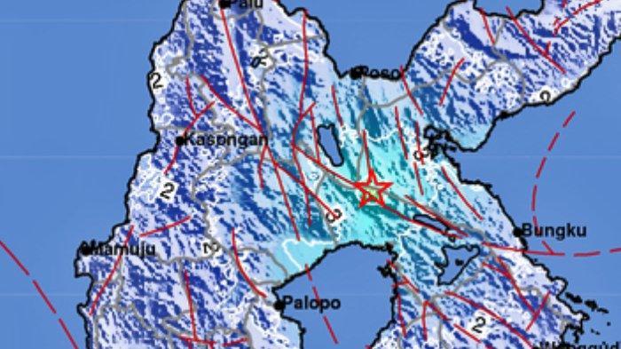 Gempa bumi di wilayah Sulawesi Selatan pada Sabtu 17 Juli 2021 malam. Info BMKG terkini.