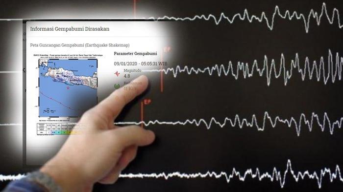 Ahli Tsunami Ungkap Yang Akan Terjadi di Jawa, Banyak Gempa Terjadi Pada 1 Minggu Ini